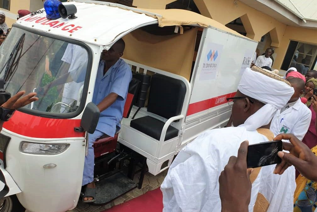 TY Danjuma Foundation commissions a community based emergency health transport in Niger State