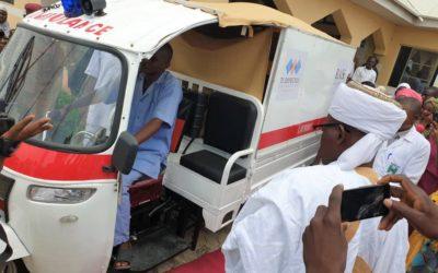 TY Danjuma Foundation commissions a community based emergency health transport in Niger State