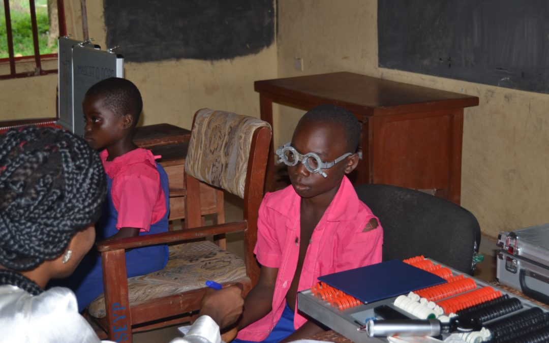 Reducing needless blindness and ensuring vision for a brighter future in Iguobazua community, Edo State